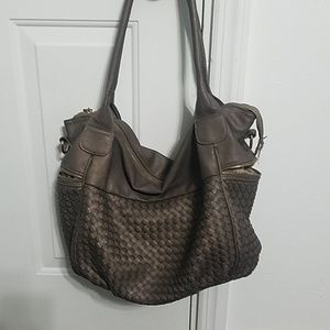 Large shoulder bag purse
